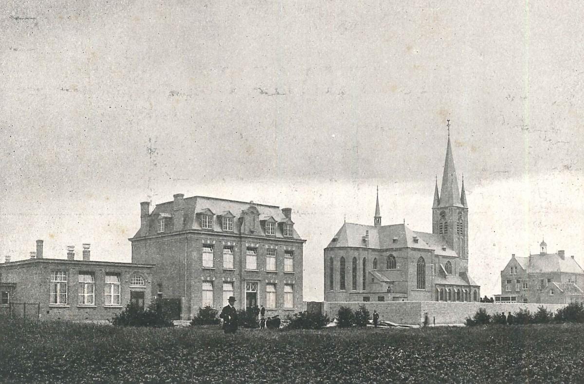 Zeilberg_klooster-kerk-pastorie oud
